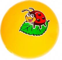 """Мяч """"Божья коровка"""", 16см, Забияка"""