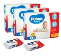 Набор Huggies Classic 4-9 кг