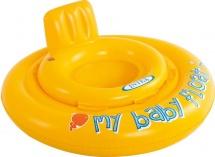 Круг для плавания Intex My baby float 67см