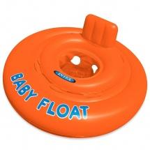 """Круг для плавания """"Baby float"""", от 1 до 2 лет, Intex"""