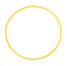 Обруч,70 см, жёлтый, Забияка
