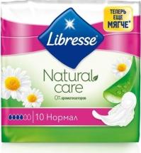Гигиенические прокладки Libresse Natural Care Ultra Normal 10 шт