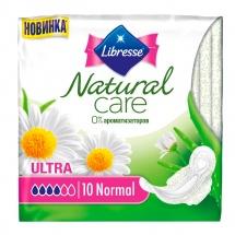 Прокладки женские Libresse Natural Care Ultra Normal 10 шт