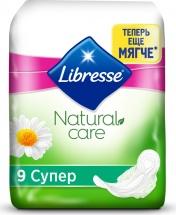 Гигиенические прокладки Libresse Natural Care Ultra Super 9 шт