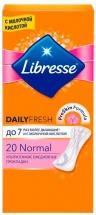 Прокладки женские ежедневные Libresse Dailyfresh Normal 20 шт