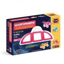 "Магнитный конструктор ""My First Buggy"", розовый, Magformers"