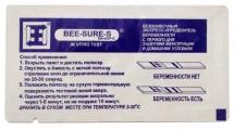 """Тест для определения беременности """"Bee-Sure-S"""""""