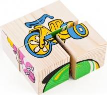 Кубики Томик Игрушки 4 шт