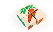 Кубики Томик Овощи 4шт