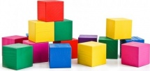 Кубики Томик Цветные 20 шт