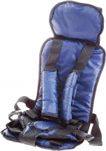 Автокресло бескаркасное Berry Стандарт 9-36 кг Синий