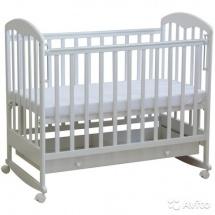 Кроватка детская Фея 325 Белый-ваниль
