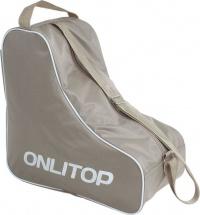 Сумка для коньков и роликов Onlitop, бежевый