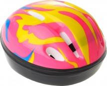 Детский защитный шлем Onlitop OT-H6 S (52-54 см), розовый