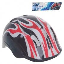 """Детский защитный шлем """"OT-H6"""", M (55-58 см), черный, Onlitop"""