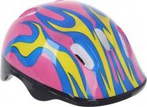 Детский защитный шлем Onlitop OT-H6 M (55-58 см), розовый