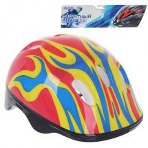 """Детский защитный шлем """"OT-H6"""", M (55-58 см), красный, Onlitop"""