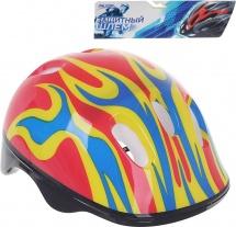 Детский защитный шлем Onlitop OT-H6 M (55-58 см), красный