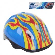 """Детский защитный шлем """"OT-H6"""", M (55-58 см), синий, Onlitop"""