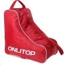 Сумка для коньков и роликов Onlitop, красный