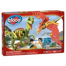 """Конструктор """"Динозавры: Велоцераптор и Птерозавр"""", Bloko"""