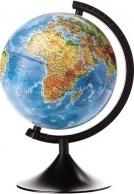 """Глобус Земли """"Физический"""", d 320 мм, серия Классик, Globen"""