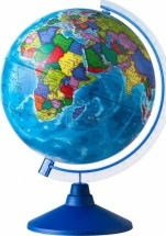 """Глобус Земли """"Политический"""", d 250 мм, серия Евро, Globen"""
