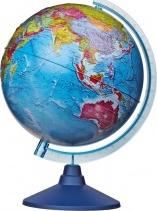"""Глобус Земли """"Политический"""" рельефный, d 320 мм, серия Евро, Globen"""
