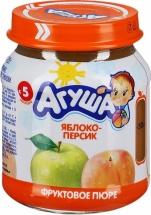 Пюре Агуша Яблоко-Персик с 5 мес 115 г