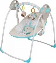 Электрокачели Baby Care Riva с адаптером, синий