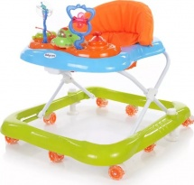 Ходунки Baby Care Mario, зелено-голубой