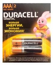 Батарейка Duracell Basic AAA алкалиновая 2 шт