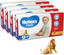 Набор подгузников Huggies Classic 5 (11-25 кг) 4 шт