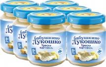 Пюре Бабушкино лукошко Треска-Картофель с 8 мес 100 г