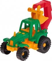 Трактор Нордпласт Ижора с ковшом