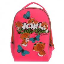 """Детский рюкзак """"Котята"""", 25×13×33 см, (фуксия), Grizzly"""