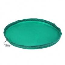 Коврик-мешок для игрушек, d=100, (зеленый), Божья коровка