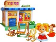 """Дом-конструктор для куклы """"Клубный дом"""", 3D, с куклой и аксессуарами, МИКС"""