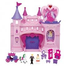 Кукольный замок с танцующими фигурками