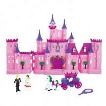 Кукольный замок раскладной, с аксессуарами