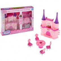 """Замок для кукол """"Любимая семья"""" с мебелью"""