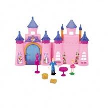 Кукольный замок складной, с аксессуарами