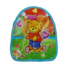 """Детский рюкзак на молнии """"Мишка"""", голубой, SLand"""