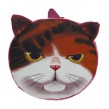 "Мягкий рюкзак ""Хитрый кот"", 9×29×26 см, SLand"