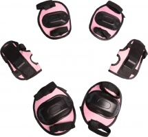 Защита роликовая Onlitop OT-2011 размер S, розовый