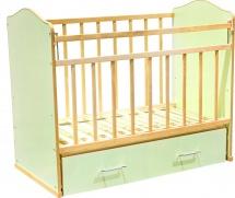 Кроватка ВДК Морозко, зеленый
