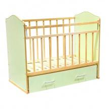 """Кроватка """"Морозко"""", зеленый, ВДК"""