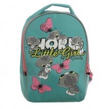 """Детский рюкзак """"Котята"""", 25×13×33 см, мятный, Grizzly"""