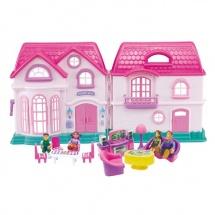 """Дом для кукол """"Загородная вилла"""", с мебелью"""