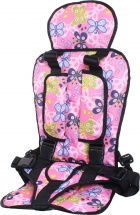 Автокресло бескаркасное Berry Стандарт 9-36 кг Бабочки на розовом